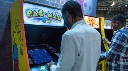 Uno de los arcade más amados en el mundo: Pac-man, que cumple 40 años (Stephen Chung/LNP/Shutterstock)