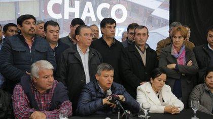 Domingo Peppo hizo el anuncio en conferencia de prensa