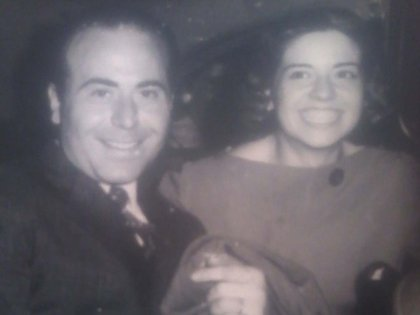 Puccio y su esposa Epifanía