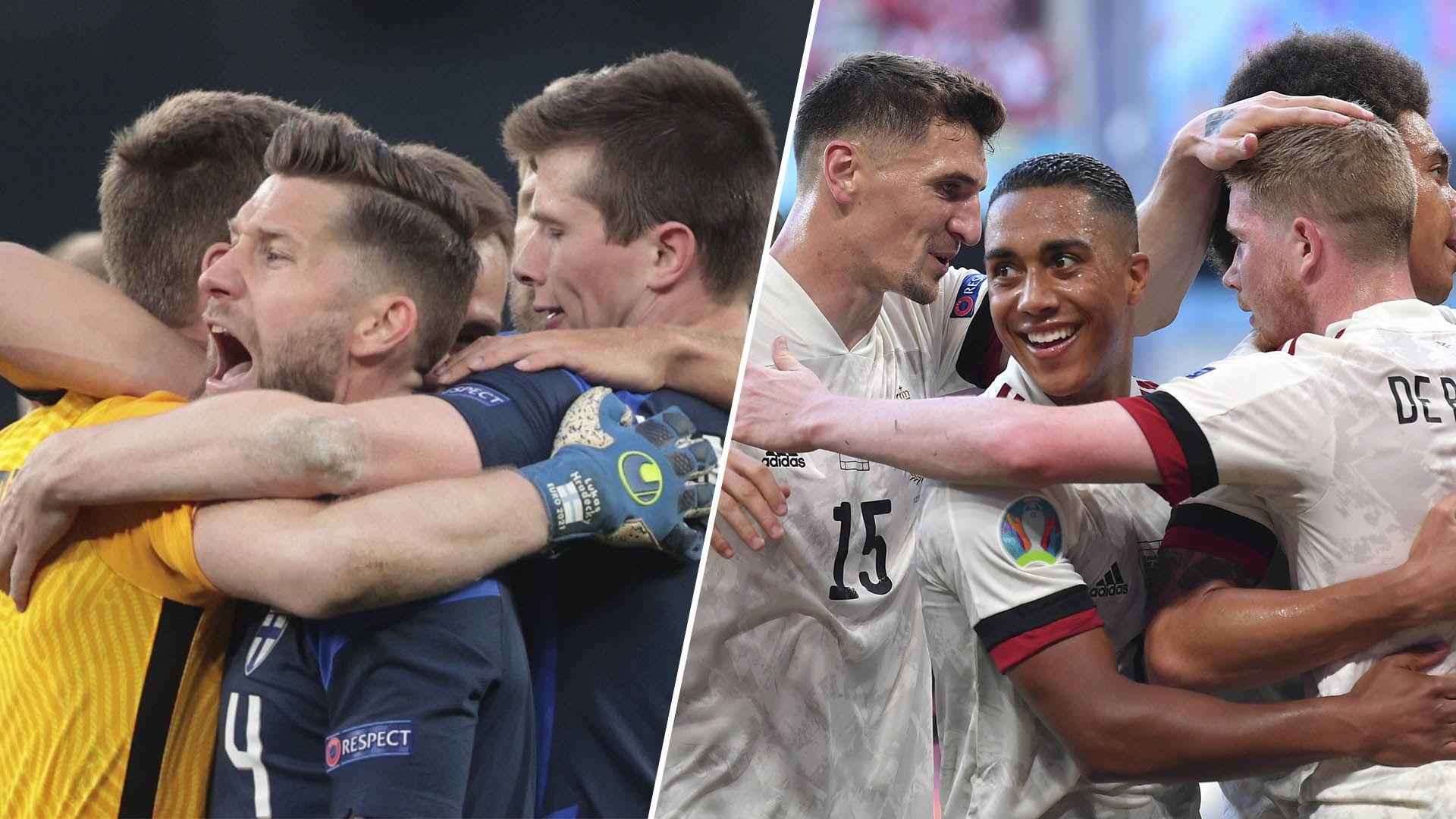 previas Eurocopa, Finlandia vs Bélgica