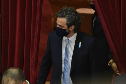El jefe de Gabinete, Santiago Cafiero (Franco Fafasuli)