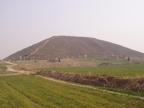 Una de las pirámides de la zona