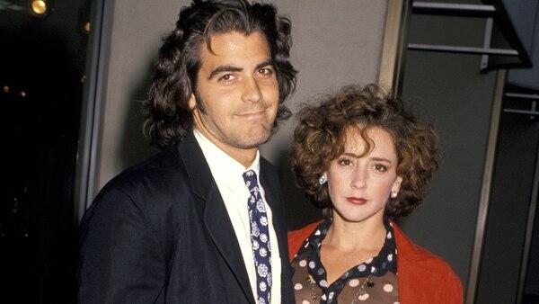 George Clooneyy su primera mujer Talia Balsam (Foto: Jim Smeal/WireImage)