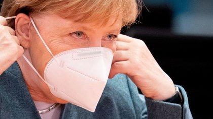 Canciller de Alemania, Angela Merkel. Kay Nietfeld/Pool via REUTERS