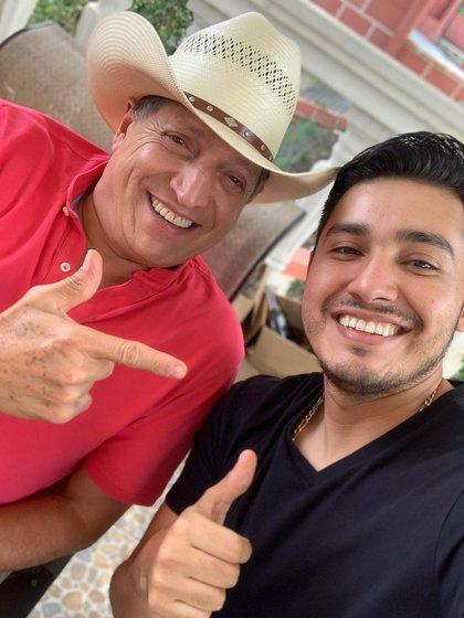 Ramiro Delgado padre y su hijo coincidieron por un breve lapso como parte de la formación de Bronco (Foto: Instagram@ramirodelgadojr)