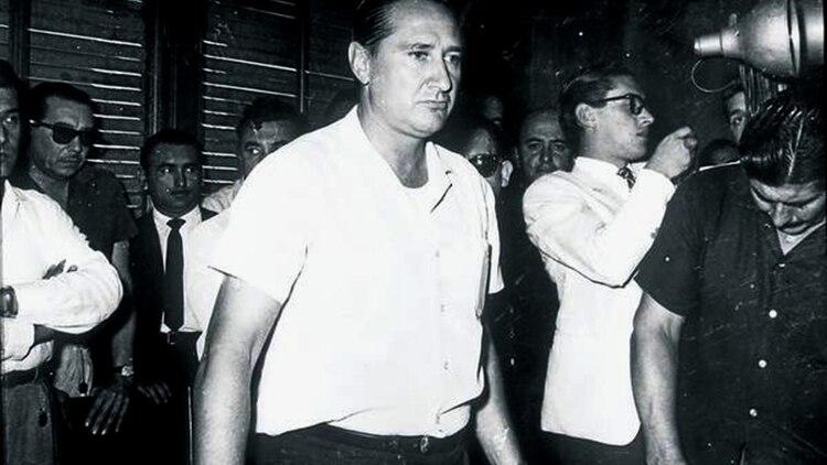 """Augusto Timoteo """"el Lobo"""" Vandor era el secretario general de la poderosa Unión Obrera Metalúrgica (Archivo General de la Nación)"""