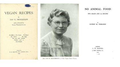 Los primeros libros de recetas de cocina basada en vegetales. (The Vegan Society)