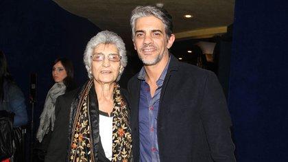 Pablo Echarri y su mamá (Verónica Guerman / Teleshow)