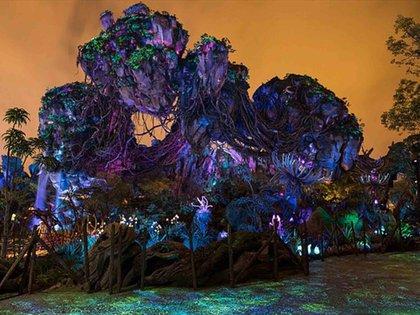 El nuevo parque de Disney basado en Avatar