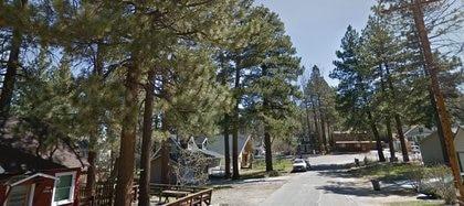 Vista del complejo turístico Big Bear, en California, en donde La Luz del Mundo tiene una propiedad