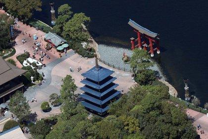 Por el COVID-19 el parque permaneció con sus puertas cerradas pero hoy bajo protocolos los turistas pueden recorrerlo (REUTERS/Gregg Newton)