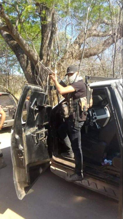 Presuntos sicarios de Cárteles Unidos (Foto: Especial)