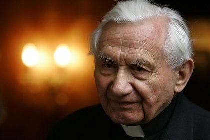 Georg Ratzinger tenía 96 años. Murió en el sur de Alemania (Reuters)