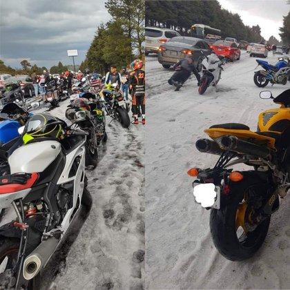 Estas condiciones meteorológicas son inconvenientes sobre todo para los motociclistas (Foto: Especial/ Cortesía)