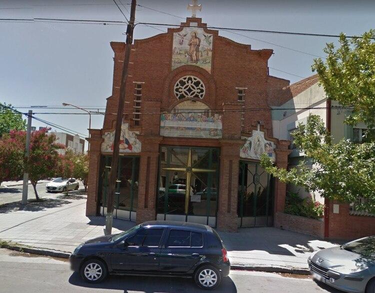 Andersen era ministro de Eucaristía de una capilla dependiente de la Parroquia San Roque, de Bahía Blanca (Google Maps)