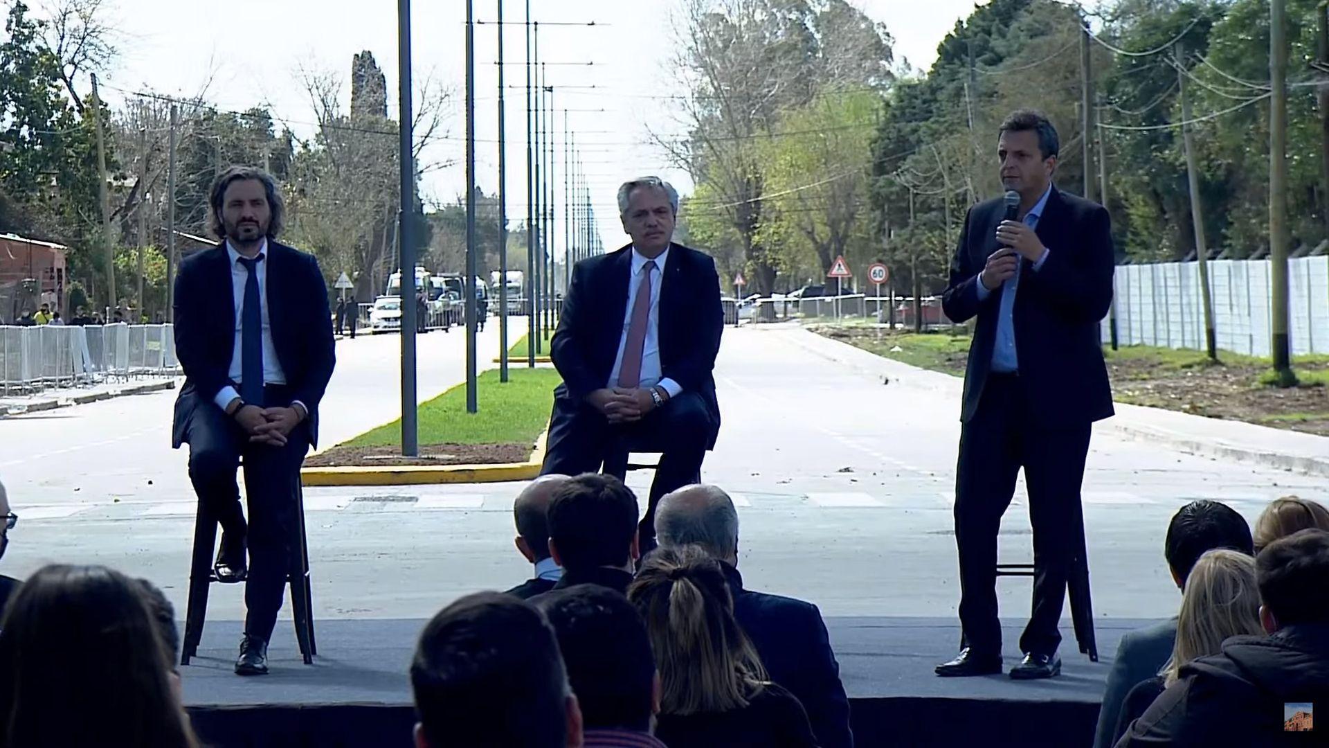 Acto presidencia Alberto Fernandez Massa Cafiero