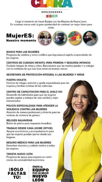 (Foto: Twitter @claraluzflores)