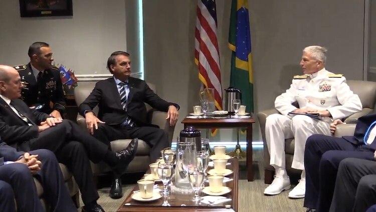 Bolsonaro y Feller firmaron el acuerdo