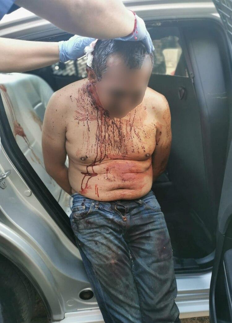Asesinó y descuartizó a su mujer (Fotos: Secretaria de Seguridad Ciudadana)