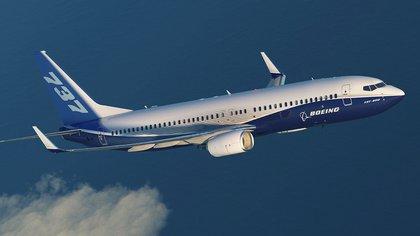 Un Boeing 737-800 NG en vuelo