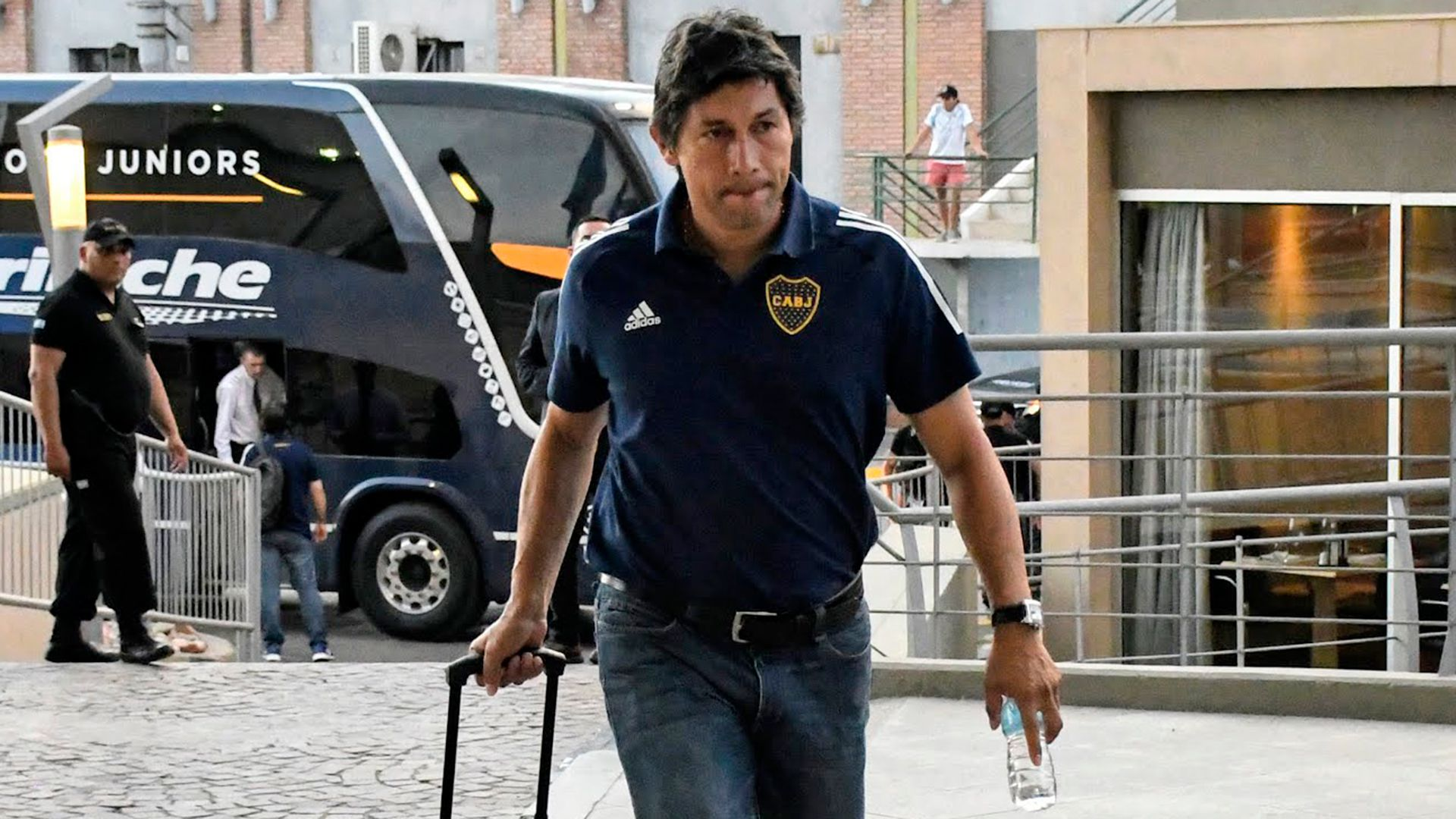 El Patrón Bermúdez es parte del Consejo de Fútbol que lidera Juan Román Riquelme (Foto Baires)