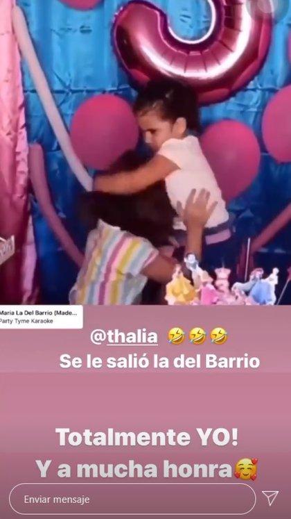 (Foto: Instagram de Thalía)