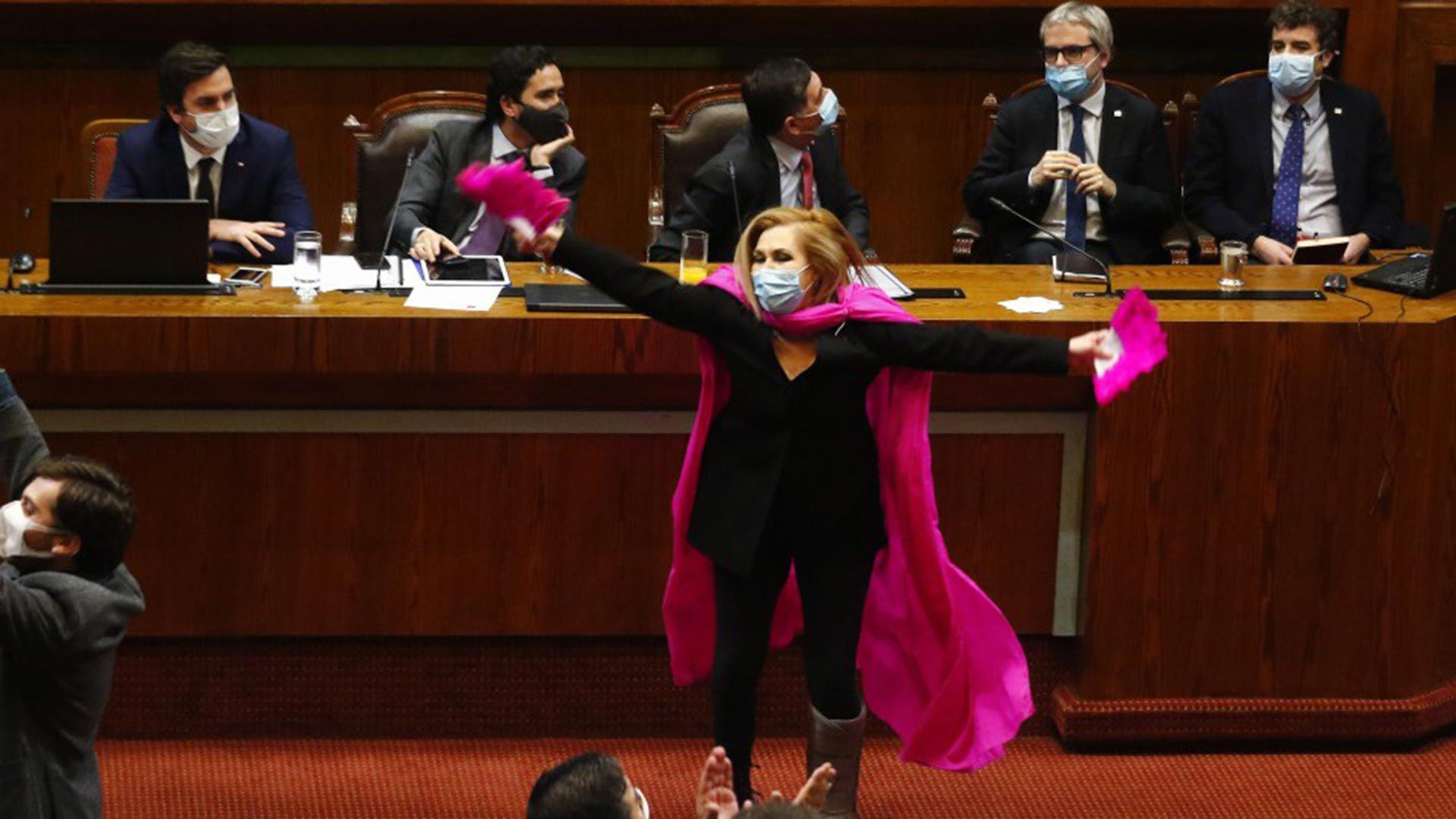 Pamela Jiles son del Congreso 1