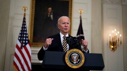 El presidente de EE.UU., Joe Biden. EFE/EPA/Doug Mills/Archivo