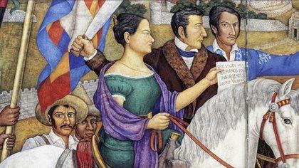 Leona Vicario fue aprehendida y encarcelada, aunque escapó, perdió gran parte de su fortuna (Foto: Twitter @INEHRM).