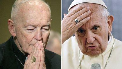 Theodore McCarrick, el arzobispo de Washington que acaba de ser apartado por el Papa Francisco debido a las numerosas acusaciones de abuso sexual