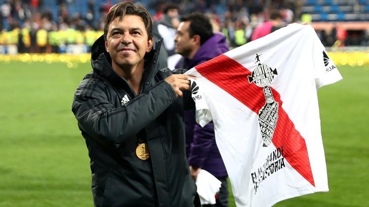 Tres semanas atrás, Gallardo se trepó a la cima del ranking como el mejor entrenador del mundo. (Foto: REUTERS)