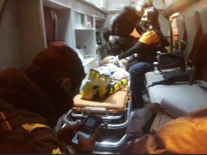 En el ataque murió uno de los tripulantes de la motocicleta; horas después falleció un hombre de 56 años que había sido trasladado en un automóvil particular para recibir atención médica (Foto: Twitter/@vigilantehuaste)