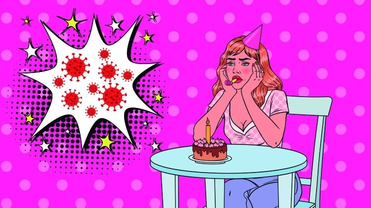 ¿Qué sienten los que cumplen años en cuarentena? ¿Cómo festejan? (Shutterstock)