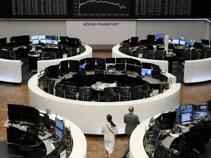 The German share price index DAX graph is pictured at the stock exchange in Frankfurt, Germany, July 21, 2020. REUTERS/Staff
