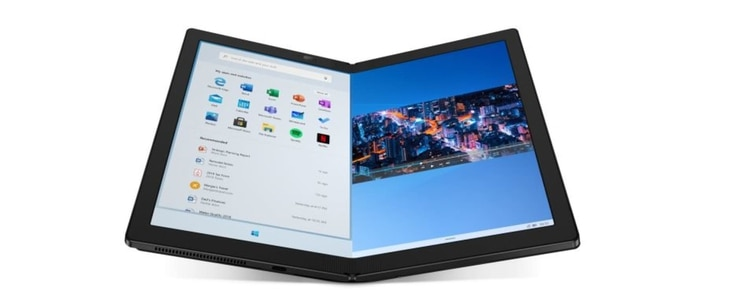 ThinkPad X1 Fold, el modelo plegable de Lenovo, estará a la venta a mediados de año  presentado en el ces 2020