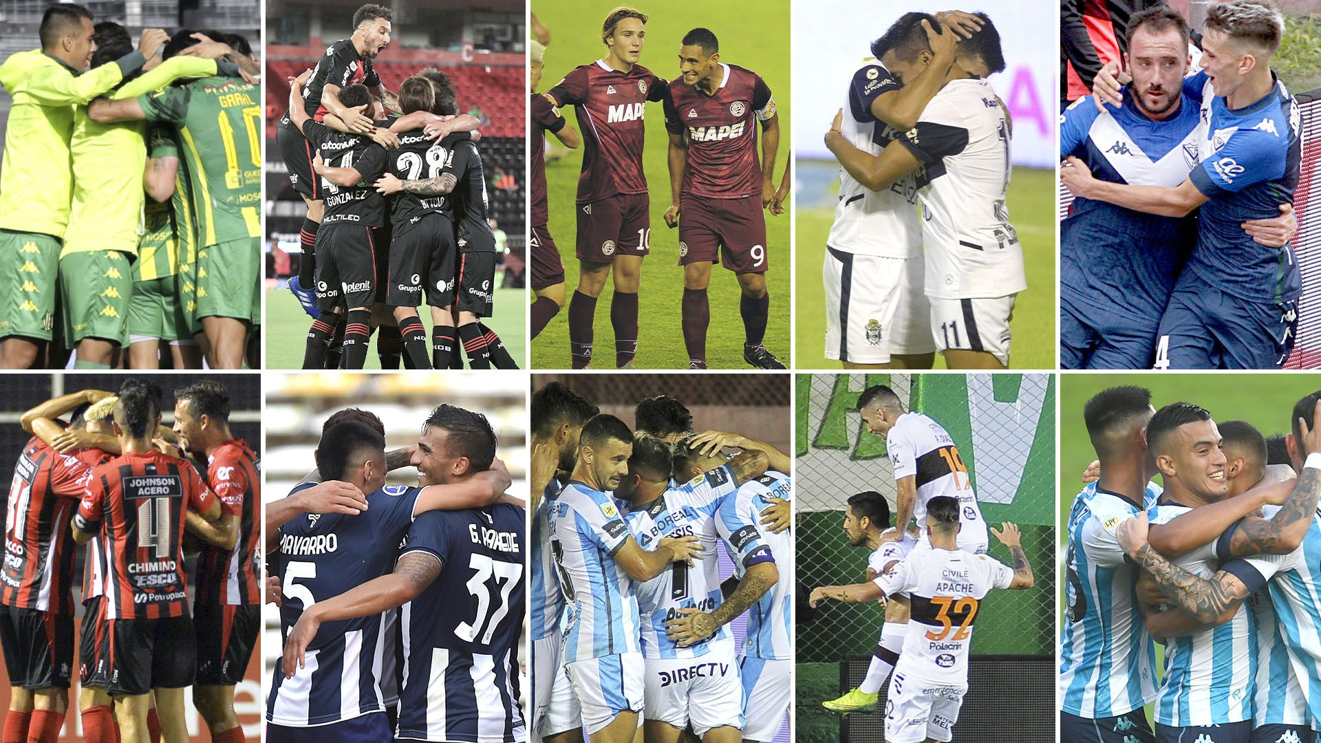 Aldosivi-Patronato Newells-Talleres Lanus-Atletico Tucuman Gimnasia-Platense Velez-Racing previas