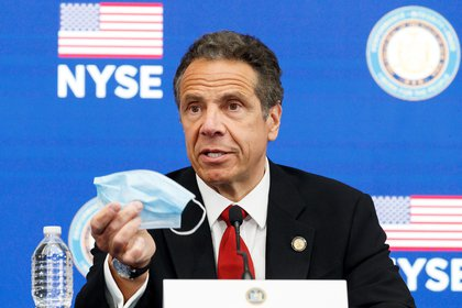 El gobernador de Nueva York, Andrew Cuomo.  EFE / EPA / JUSTIN LANE