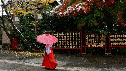 Japón tiene las estaciones del año bien marcadas (AP)