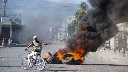(AP Photo/Dieu Nalio Chery)