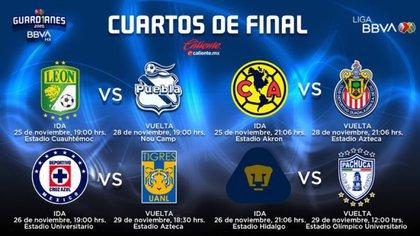 Liga MX anuncia calendario trimestral (Foto: Twitter @ Lika PPVMX)