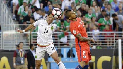 La derrota de 7 a 1 frente a Chile en 2016, fue el último juego de México en una Copa América (Foto: AP)