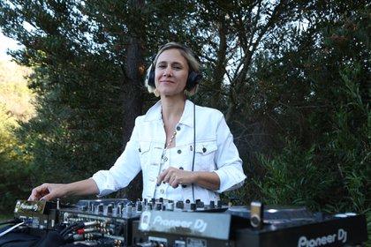 La DJ Soledad Rodríguez Zubieta musicalizó el torneo de tenis