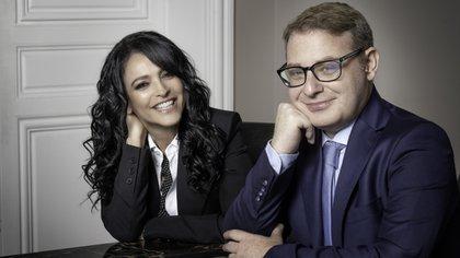 Axel Kuschevatzky y Cindy Teperman