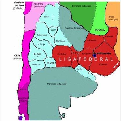 Pese a integrar la Liga Federal, Córdoba envió representantes al Congreso de Tucumán