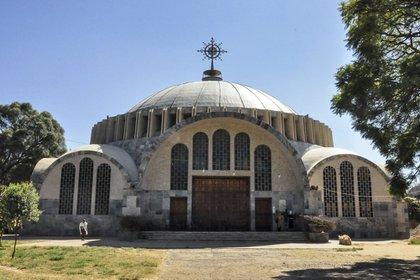 La iglesia de Axum es el templo ortodoxo más sagrado de Etiopía, pues los fieles locales creen que se ahí encuentra la antigua Arca de la Alianza. Foto: AP