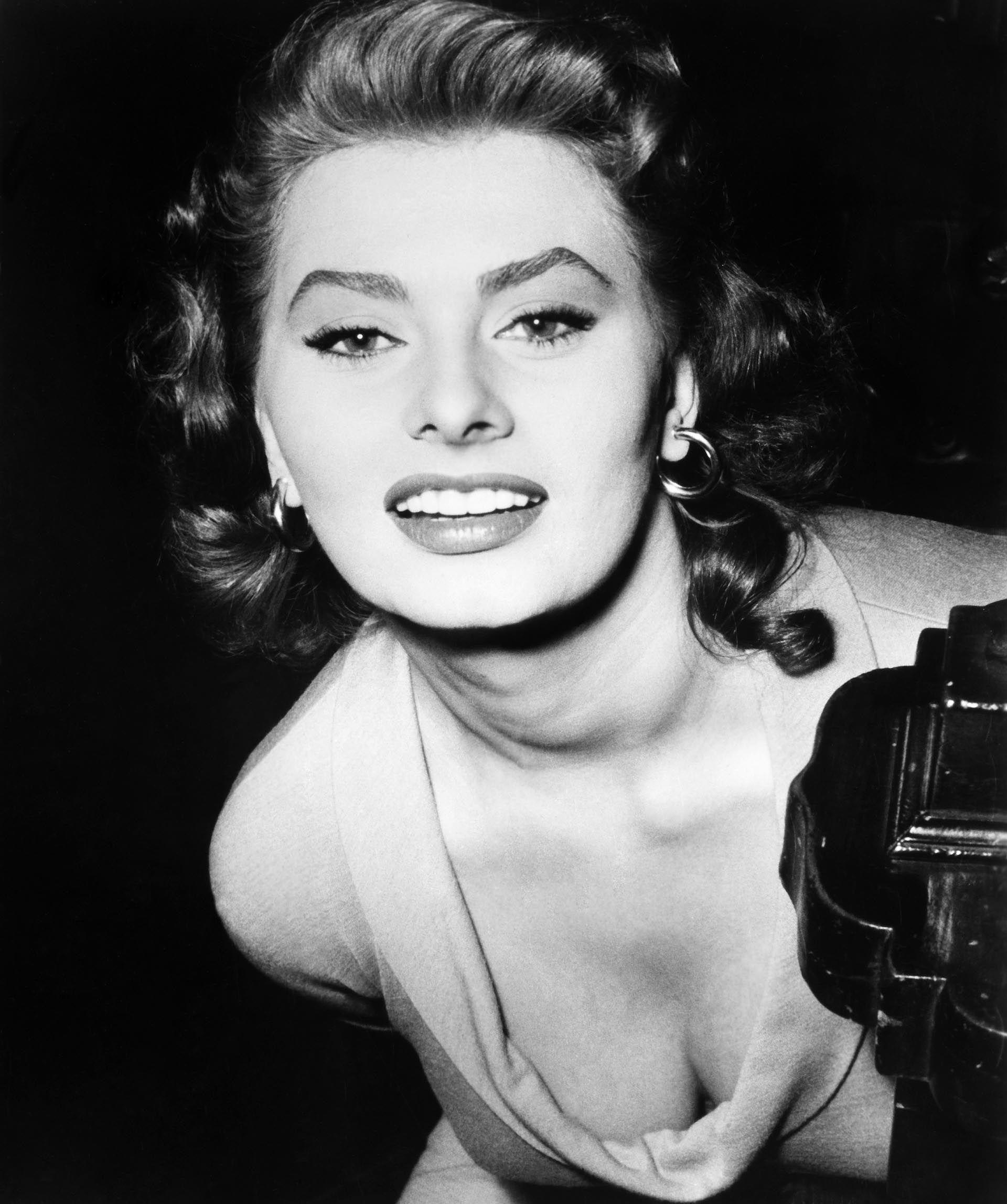 Sophia Loren (Crédito: Shutterstock)