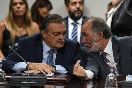 Alberto Lugones y Pablo Tonelli (Maximiliano Luna)