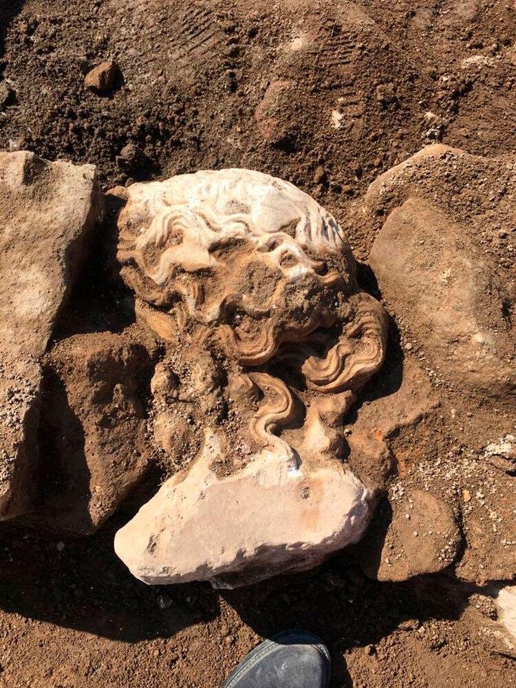 La escultura fue encontrada en muy buen estado