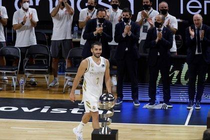 Facundo Campusso deja el Real Madrid para jugar en la NBA (Foto: EFE)