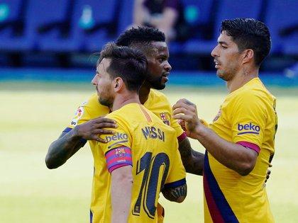 Semedo compartió tres temporadas con Messi (Reuters)